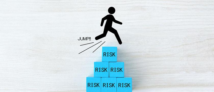 リスクを回避するイメージ